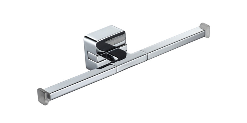 Two-end towel bar